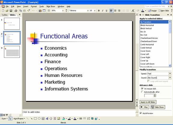Essentials of PowerPoint