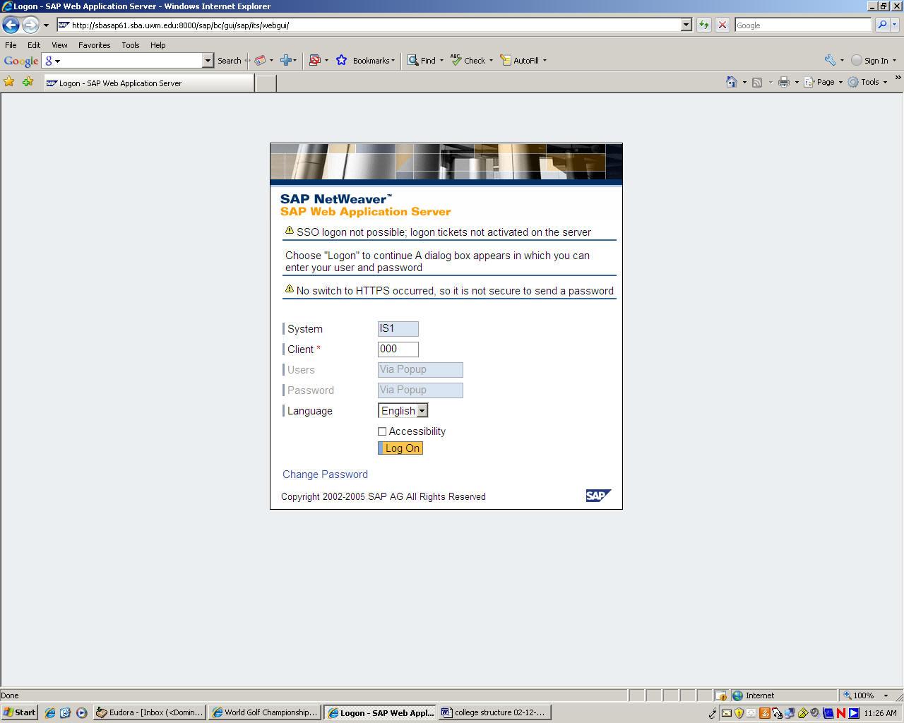 A Quick Tour of SAP