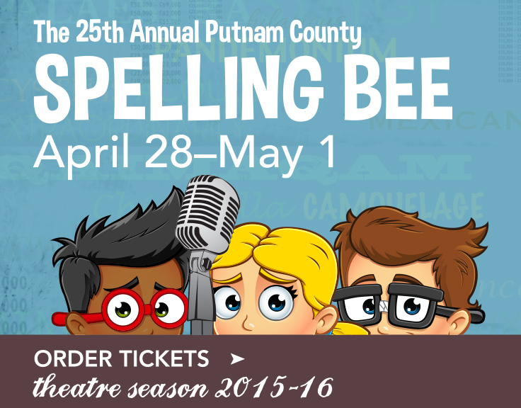 Theatre production of The Spelling Bee