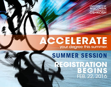 Accelerate your degree with summer session options.