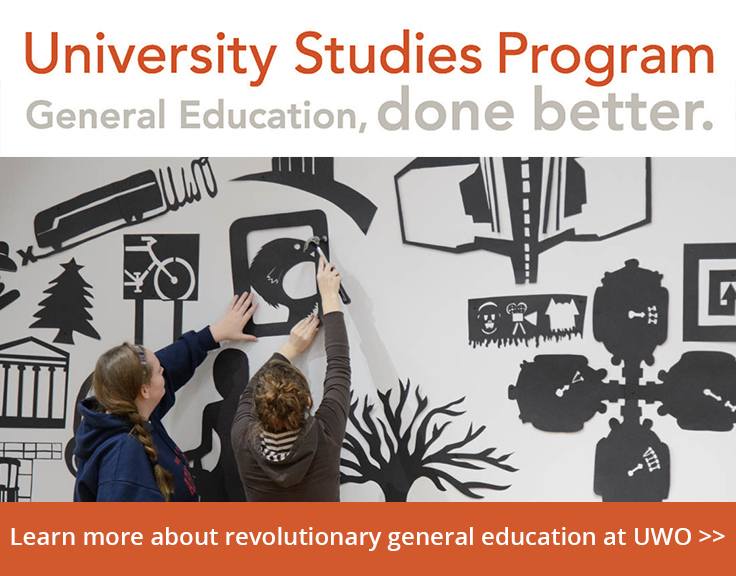 University Studies Program - Learn more about revolutionary General Education at UWO.