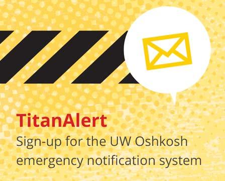 Sign up for TitanAlert.