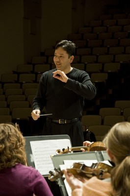Gaskins conducting