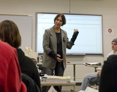 Dr. Judith Hankes in the Classroom