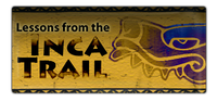 Lessons from the Inca Trail